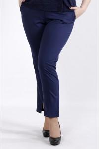 Фото Деловые синие брюки | b045-2