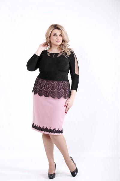 Фото Костюм: блузка и юбка фрезия | 01046-3