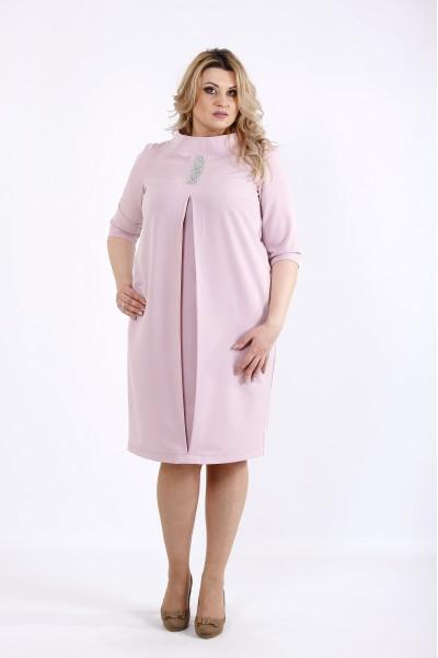 Фото Нежное светлое платье фрезия | 01070-1