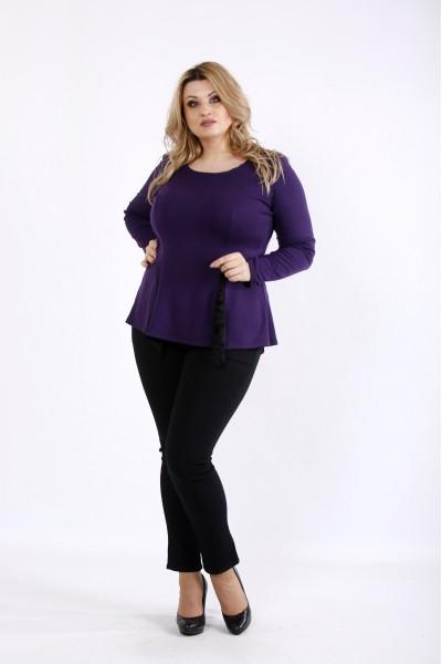 Фото Фиолетовая блузка | 01078-3
