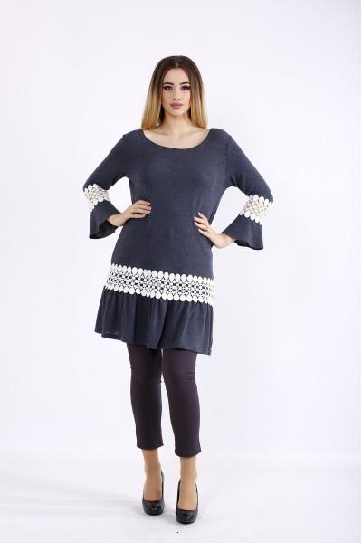 Фото Джинсовая блузка-туника | 01081-1