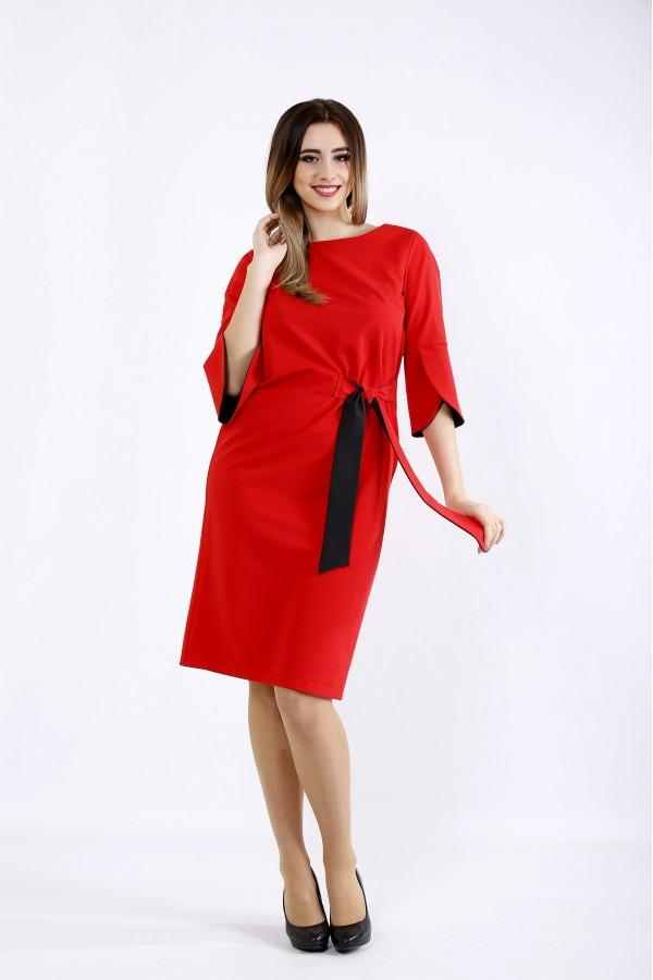Фото Алое платье | 01098-1