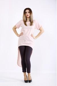 Фото Розовая блузка из бенгалина | 01104-1