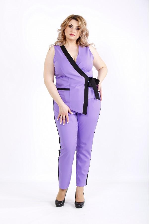 Фото Модный сиреневый костюм | 01135-2