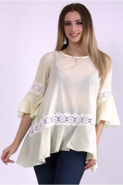 Фото Лимонная блузка | 01149-1