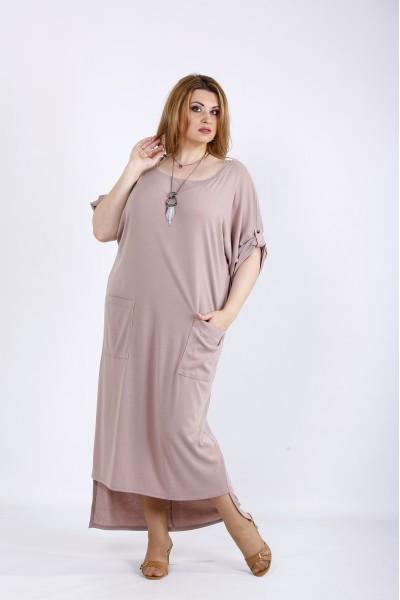 Фото Удобное платье с карманами | 01168-2