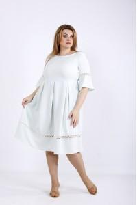 Фото Легкое летнее платье шалфей | 01176-3