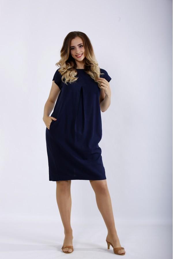 Фото Синє плаття | 01174-1