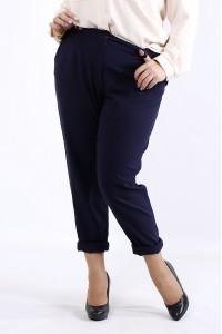 Фото Легкие летние брюки синего цвета | b055-2