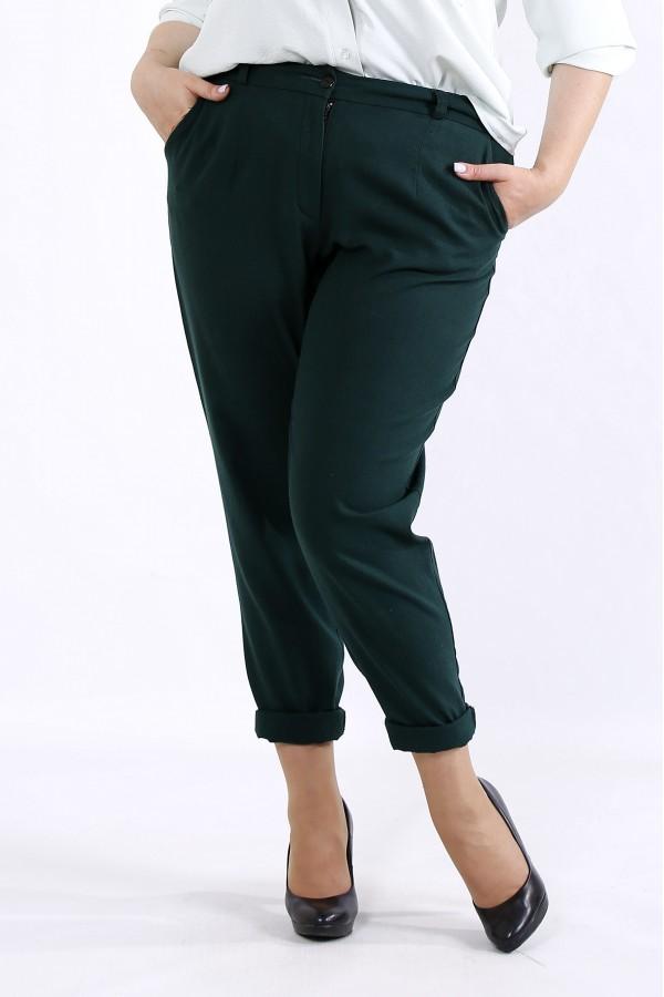 Фото Зеленые летние брюки | b055-3