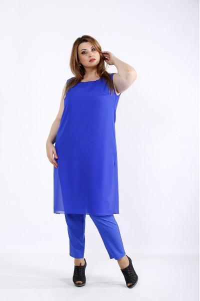 Фото Комплект электрик: брюки и туника | 01227-3