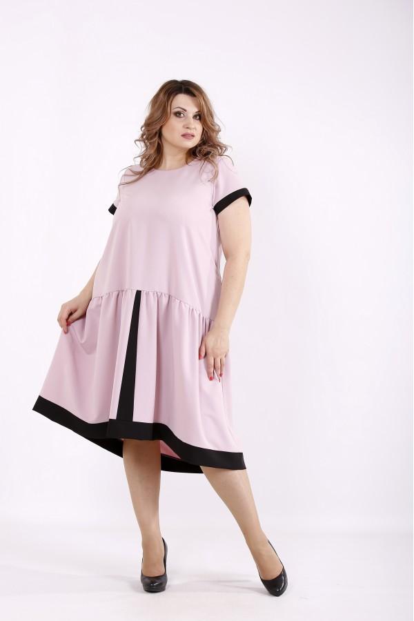 Фото Сукня кольору фрезия | 01229-3