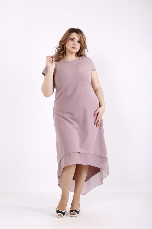 Фото Бисквитное платье ниже колена | 01230-3