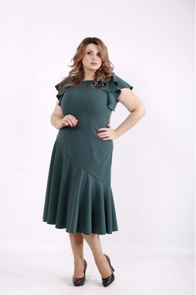 Фото Зелена гарна сукня | 01231-1