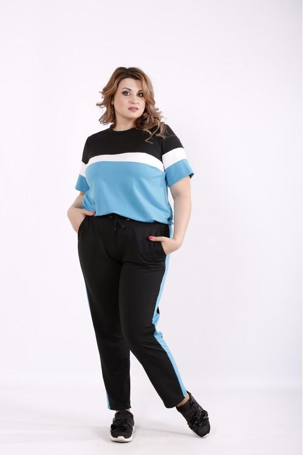 Фото Блакитний спортивний костюм | 01237-2