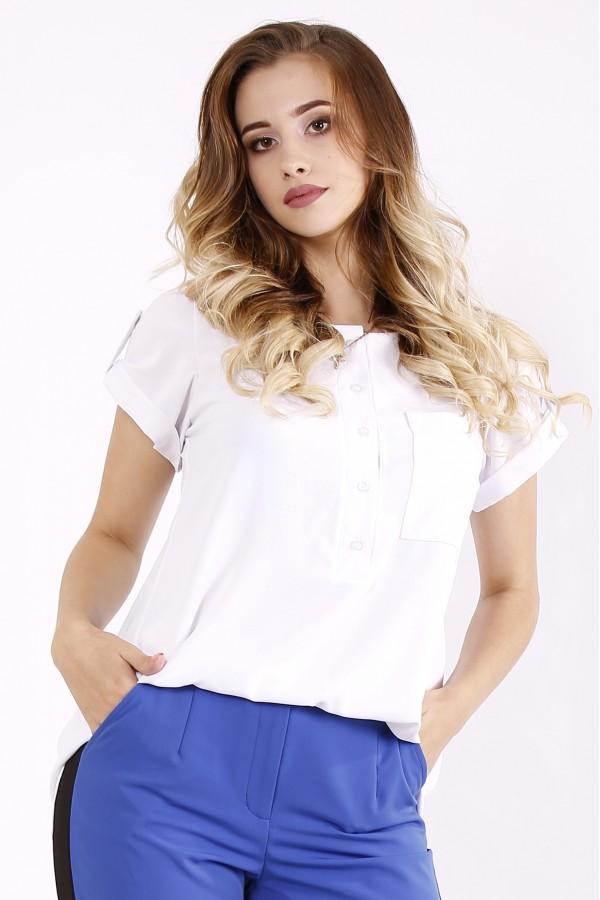 Фото Белая блузка | 01243-1