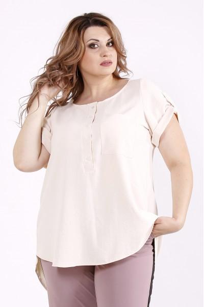 Фото Бежевая блузка | 01243-2