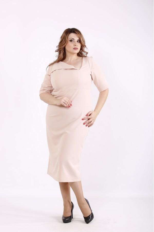 Фото Красивое светлое платье   01248-3