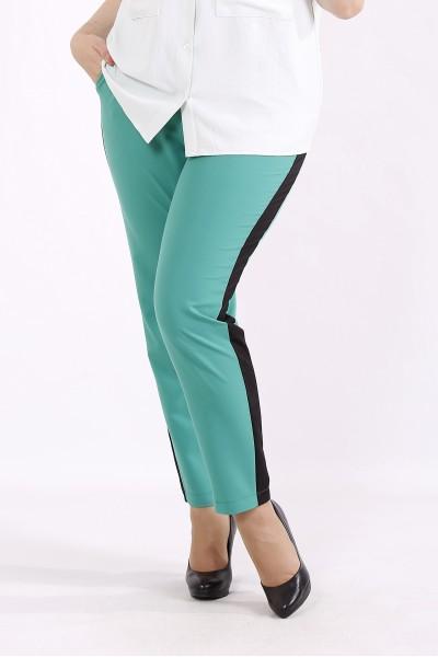 Фото Светло зеленые брюки | b062-2