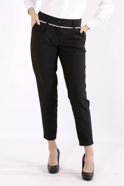 Фото Черные деловые брюки | b064-1