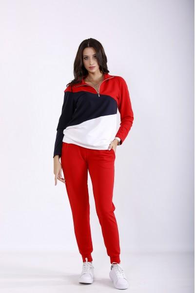 Фото Красный практичный костюм | 01253-1