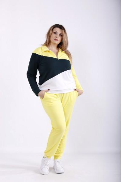 Фото Желтый спортивный костюм | 01253-3