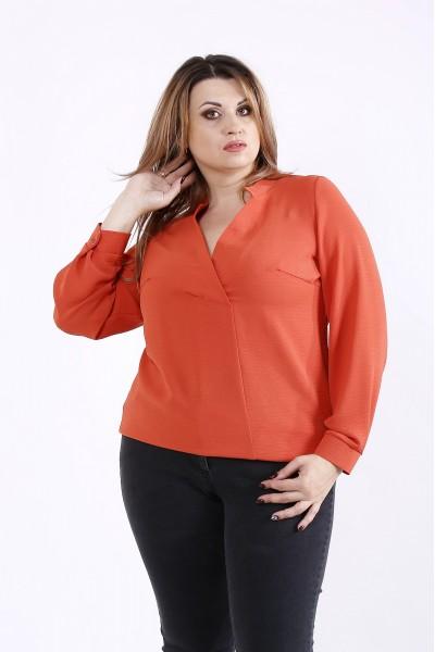 Фото Теракотова блузка | 01258-1