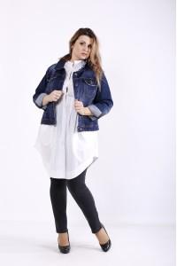 Коротка джинсова куртка | j01241-1