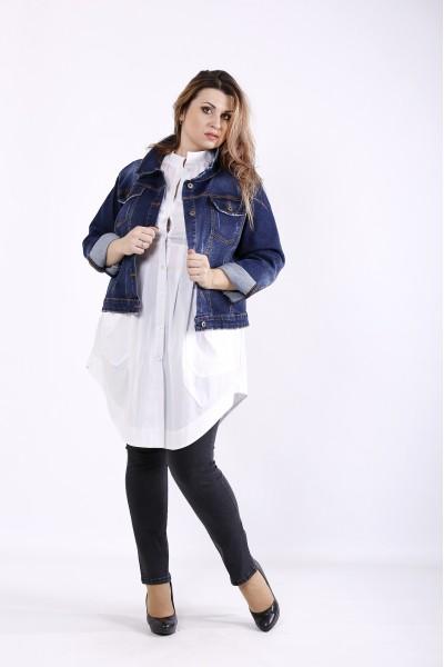 Фото Короткая джинсовая куртка | j01241-1