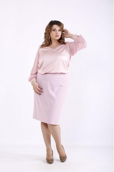 Фото Розовая блузка | 01289-1