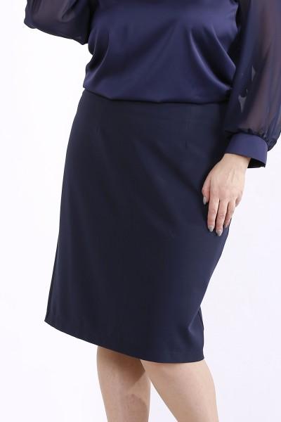 Фото Темно-синяя юбка | 01290-3