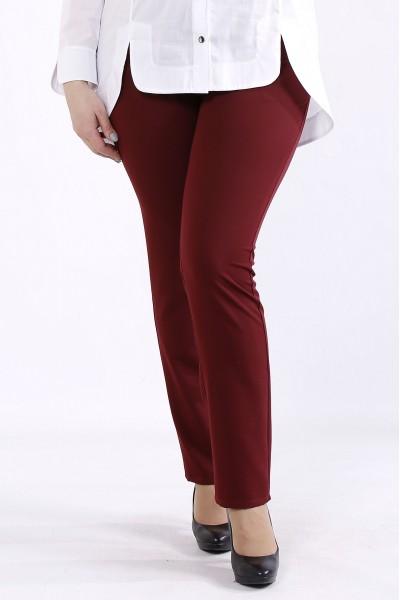 Фото Бордовые брюки | b067-1
