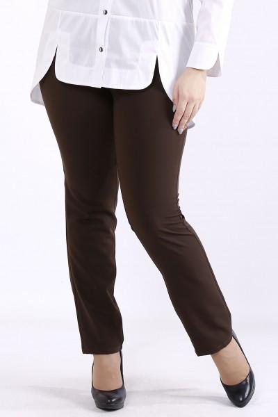 Фото Шоколадные брюки | b067-2