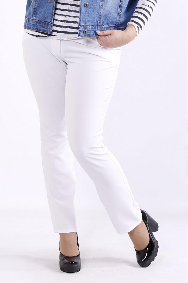 Фото Белые брюки | b067-3