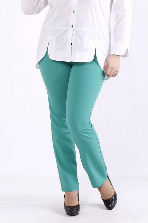 Фото Зеленые брюки | b067-4