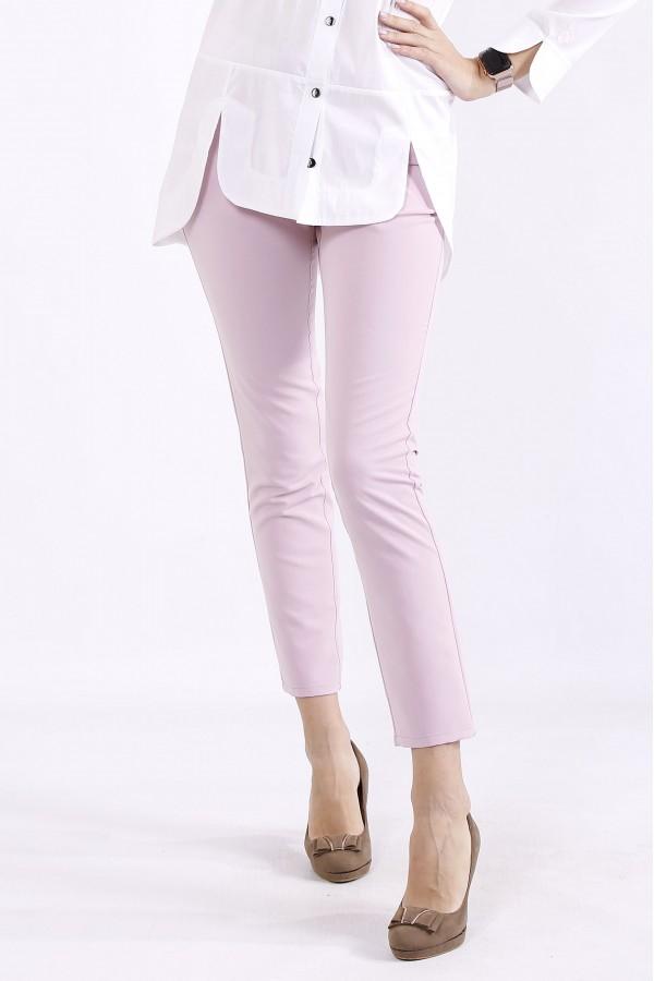 Фото Розовые брюки   b067-5