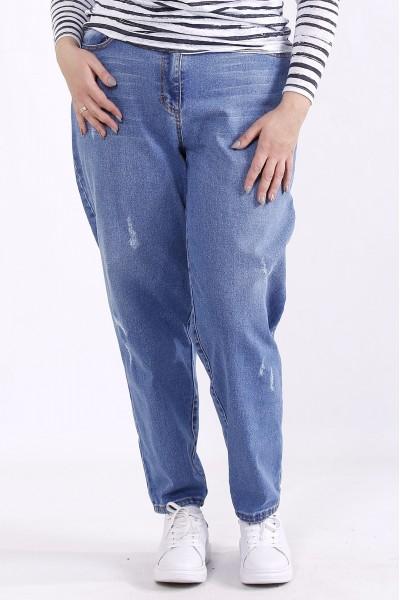 Фото Голубые модные джинсы | j065