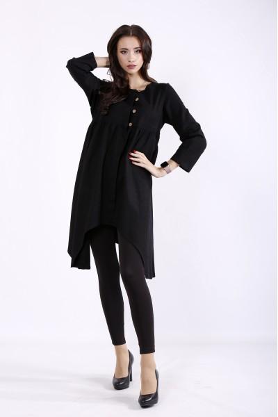 Фото Черная блузка | 01297-1