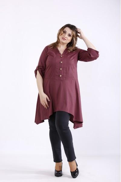 Фото Сливовая блузка   01298-3