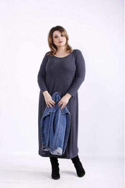 Фото Длинное платье баллон | 01299-2
