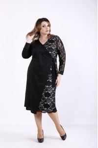 Фото Торжественное черное платье | 01311-3
