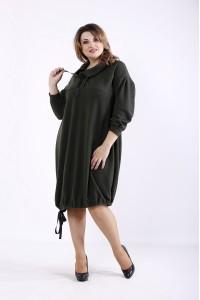 Фото Модное платье хаки | 01315-3