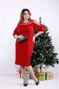 Фото Алое платье | 01341-2