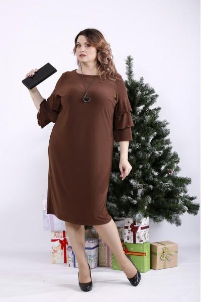 Фото Шоколадне плаття масло | 01342-2