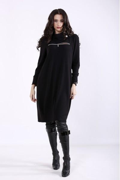 Фото Чорна сукня груша | 01353-1