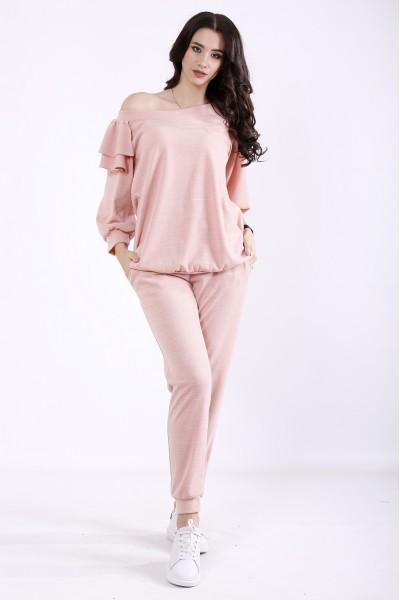 Фото Рожевий костюм з ангори | 01356-1
