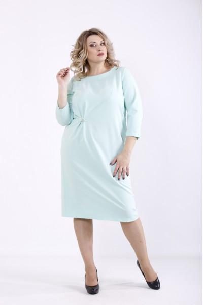 Фото Мятное платье | 01363-1
