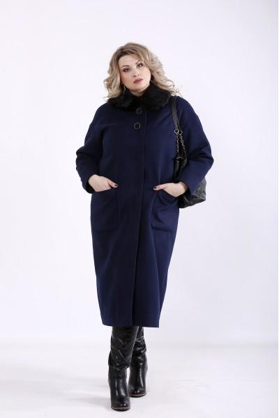 Фото Синє пальто з кашеміру (різні версії) | t01362-2