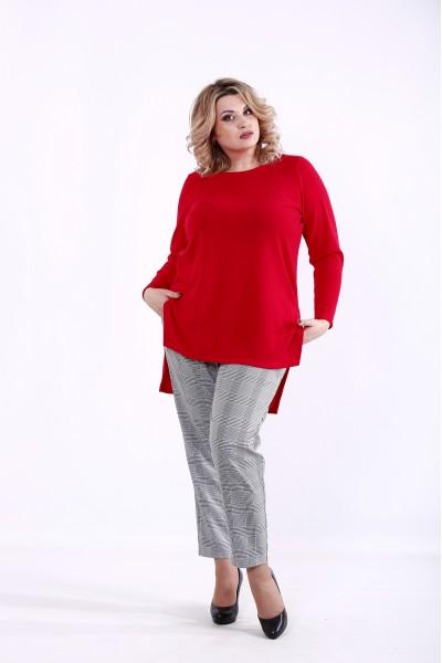 Фото Красная блузка | 01372-1