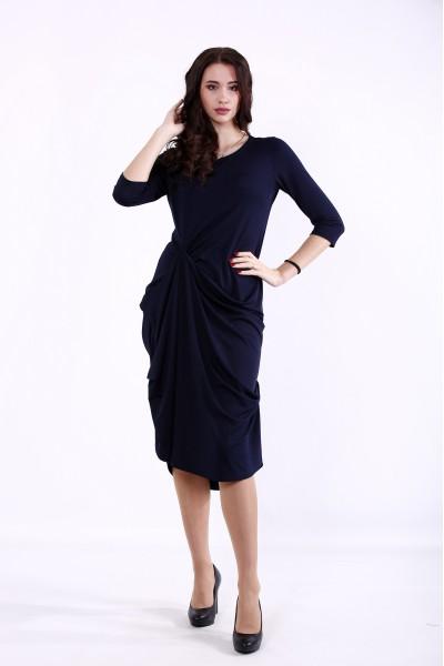 Фото Синее красивое платье | 01374-1